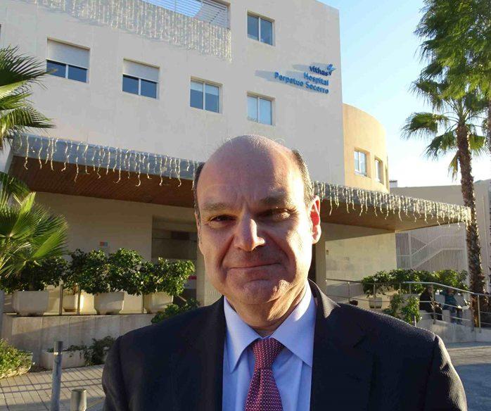 Entrevista al Dr. José Luis Pérez Mateogerente del grupo Vithas