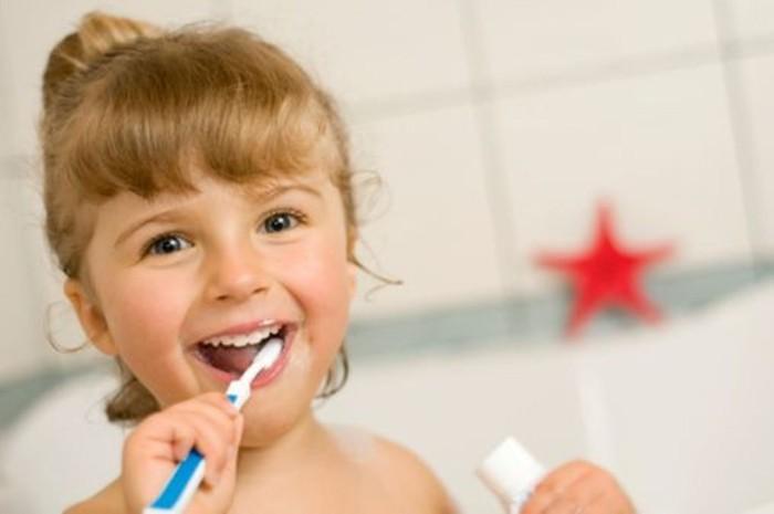 Higiene bucal en niños: lavarse los dientes correctamente