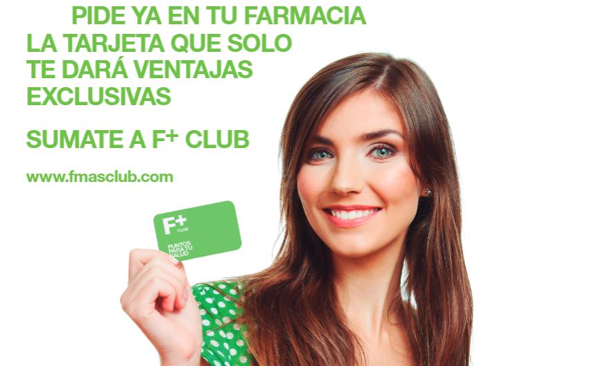 "F+ CLUB: ""Puntos para tu salud, salud para tu bolsillo"""