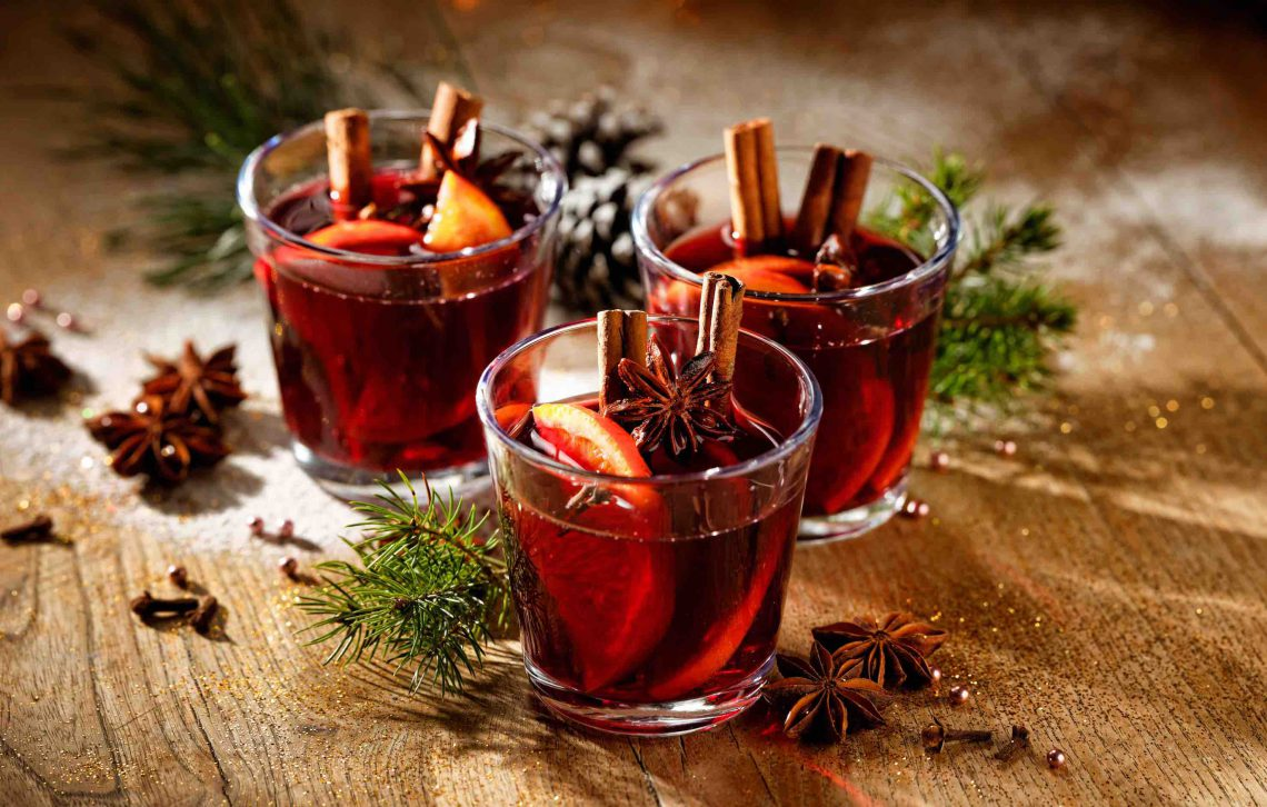 Las bebidas saludables para Nochevieja