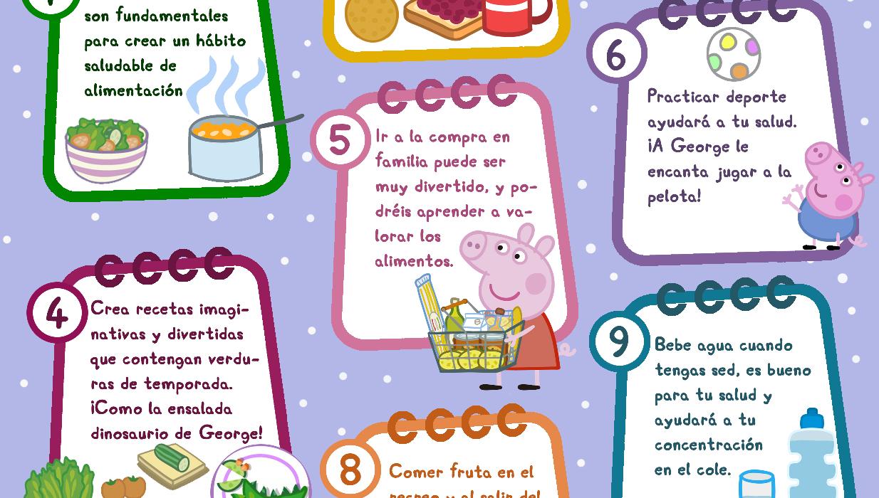 10 propósitos saludables para toda la familia
