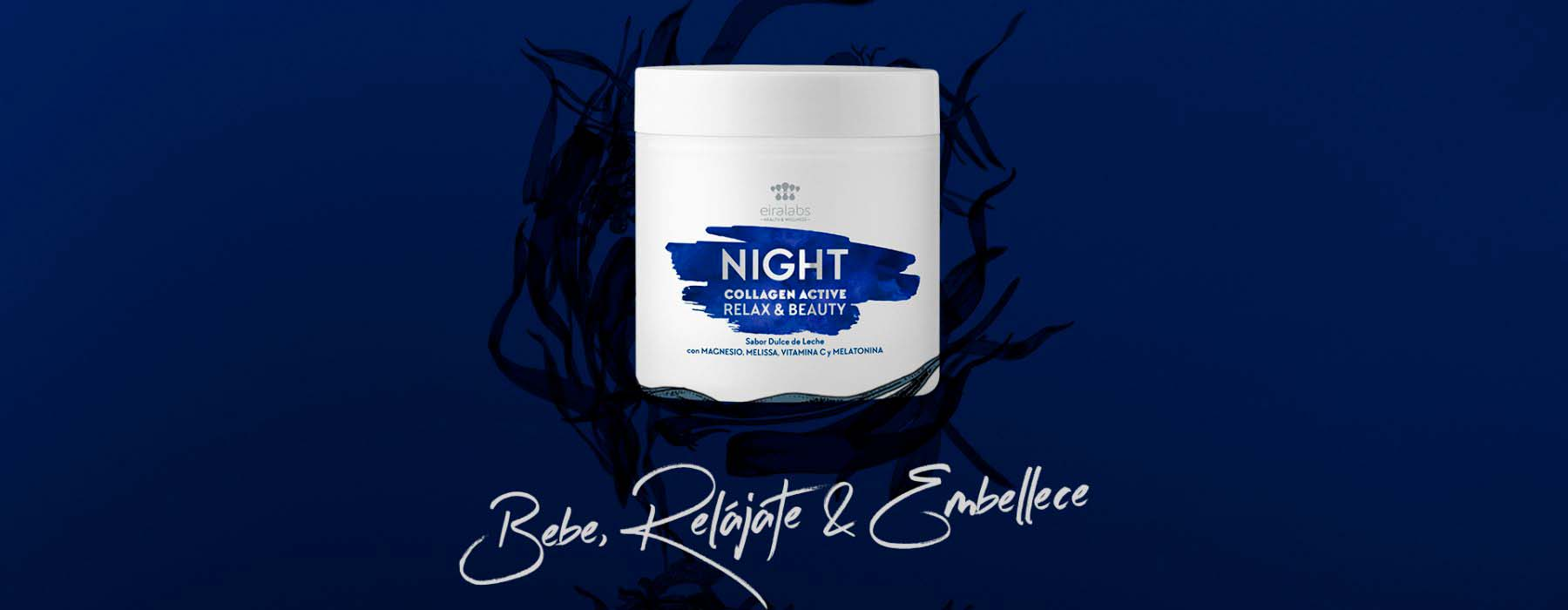 Night Collagen Active: embellece tu piel mientras duermes