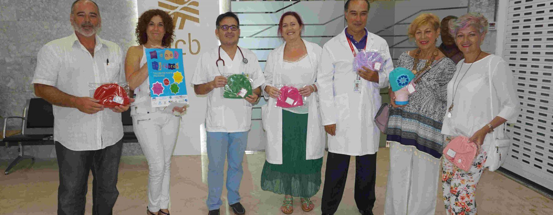 HCB se suma al proyecto solidario «Manos tejedoras»para confeccionar gorritos destinados a pacientes oncológicos