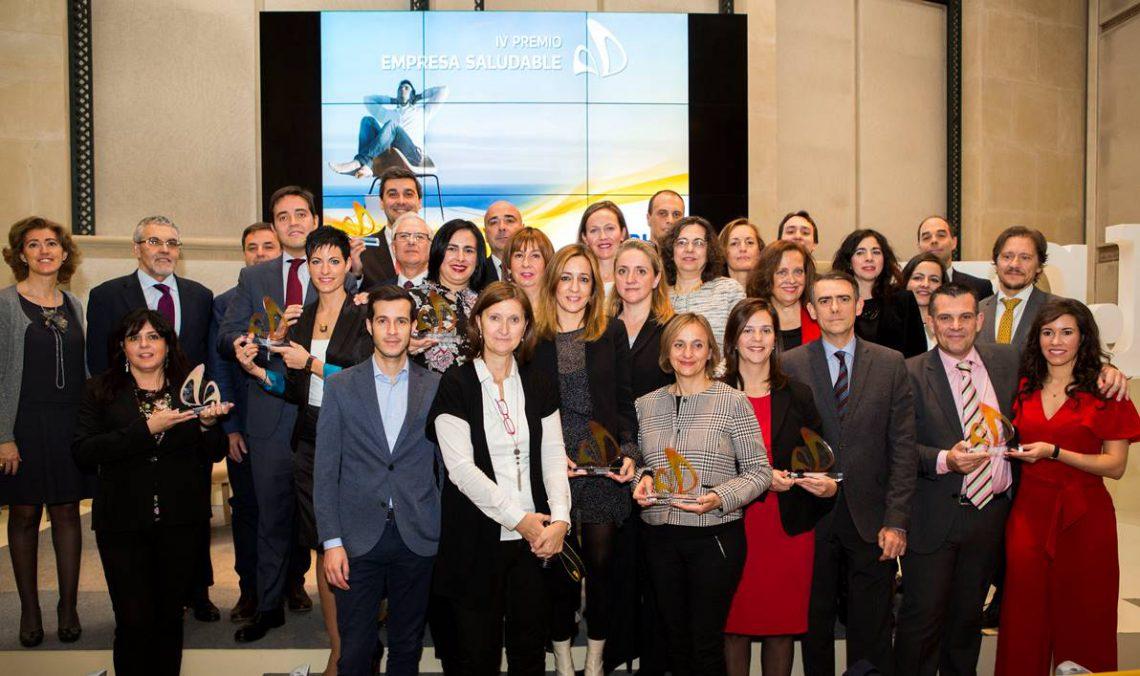 Hefame recibe un accésit en los IV Premios Empresa Saludable