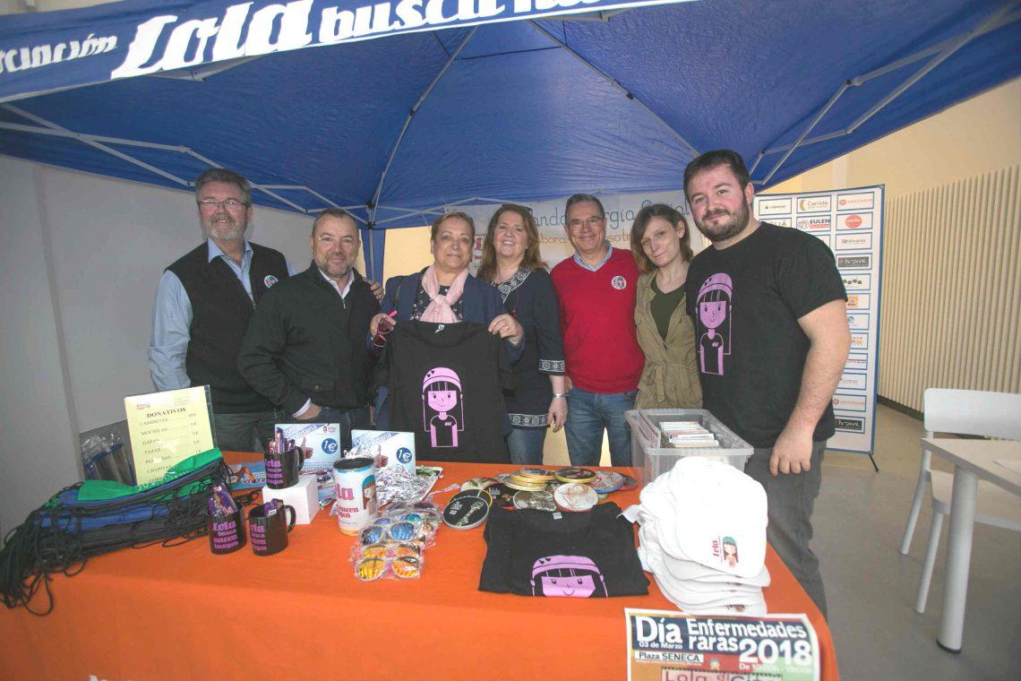 "The association ""Lola Busca Nueva Imagen"" celebrates its three year anniversary"