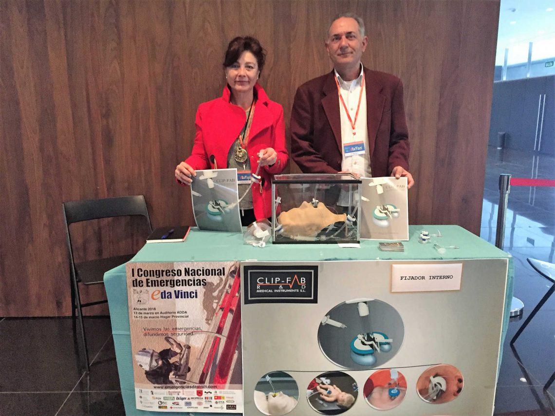 El dispositivo Clip-FAB se presenta en el I Congreso Nacional de Emergencias eDa Vinci