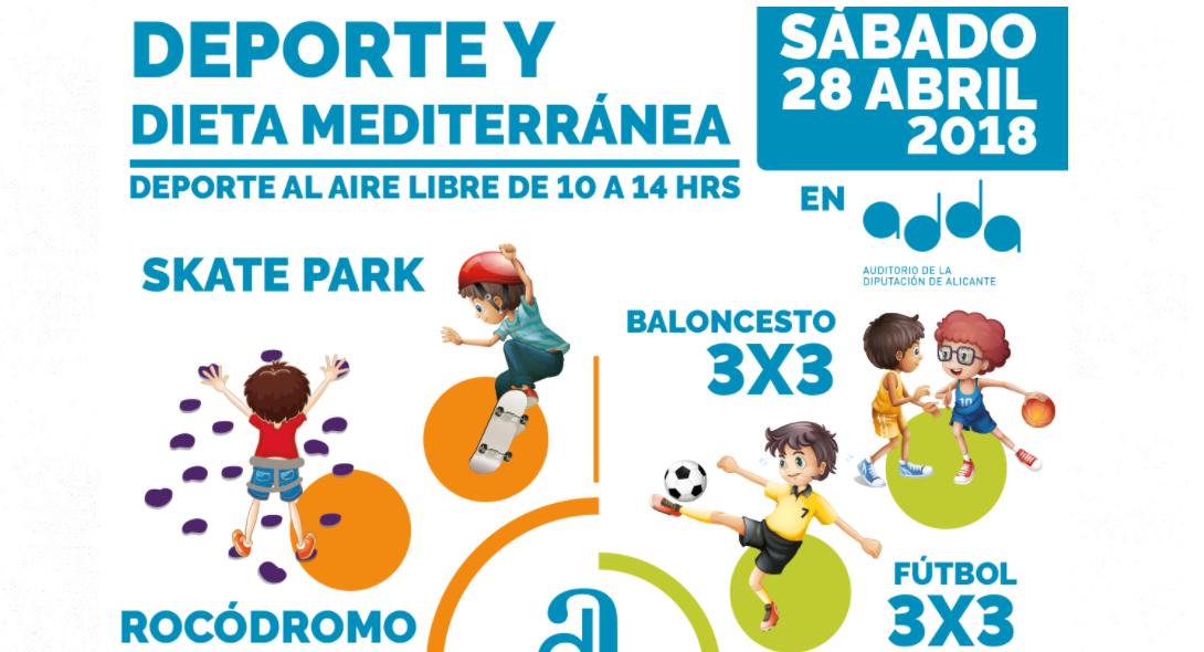 Alicante Gastronómica: Jornada sobre la dieta Mediterránea en la Actividad Física y el Deporte
