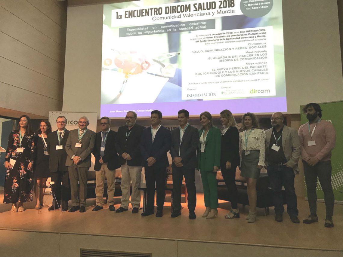 Encuentro Dircom Salud 2018 Comunidad Valenciana y Murcia
