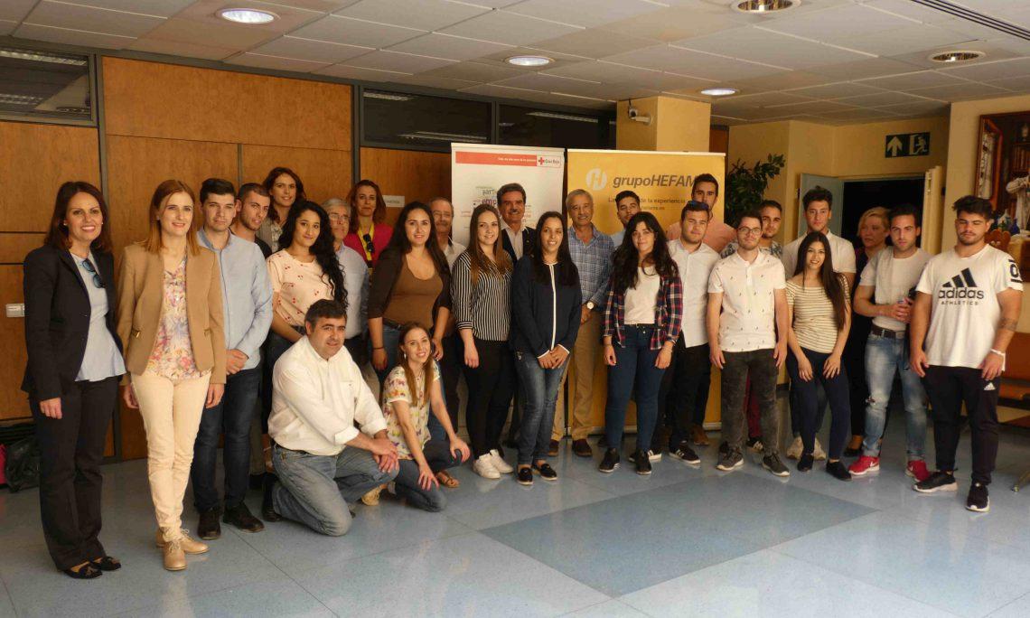 Grupo HEFAME y Cruz Roja apuestan por lacapacitación técnica