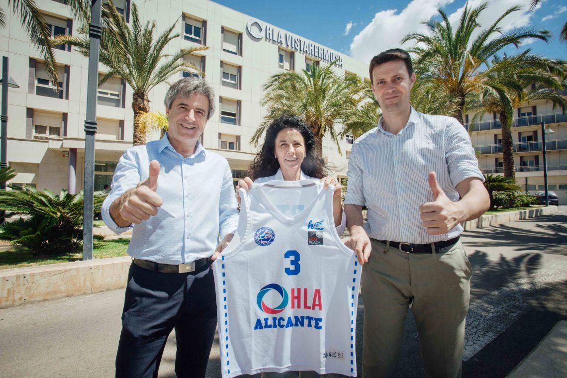 HLA Alicante renueva su patrocinio con la Fundación Lucentum de Baloncesto