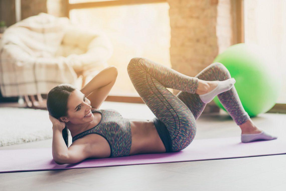 5 ejercicios para ponerte en forma en casa