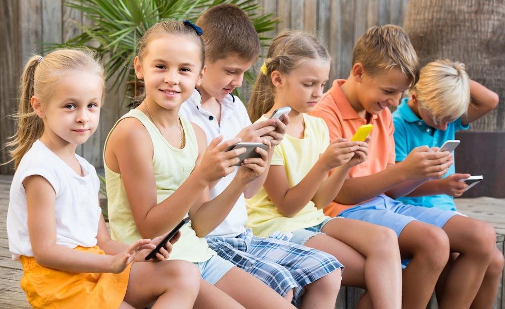 Adicción tecnológica en verano