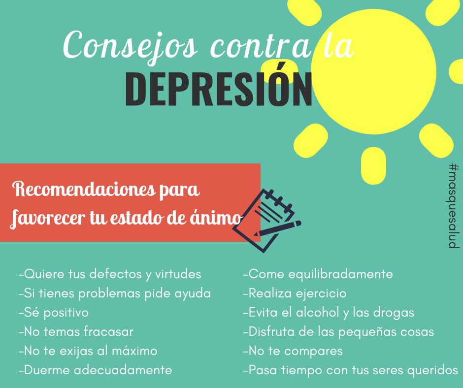 Resultado de imagen para tips contra la depresion