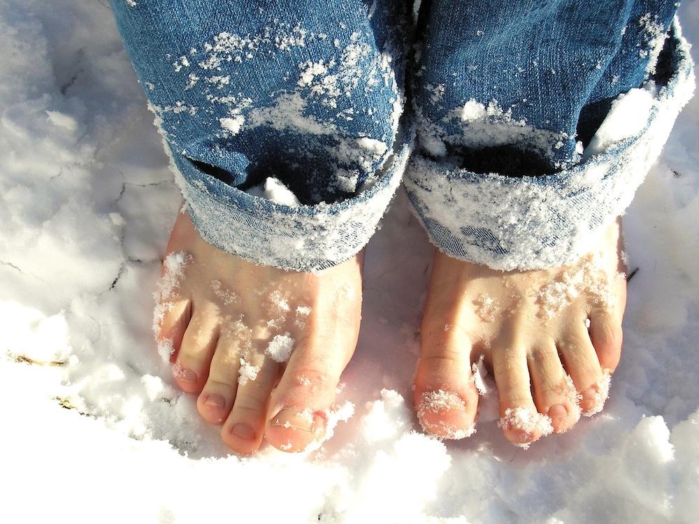 La salud de los pies en invierno