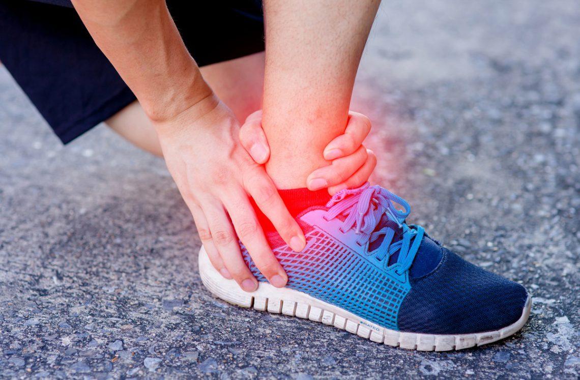 Esguince de tobillo y cirugía artroscópica