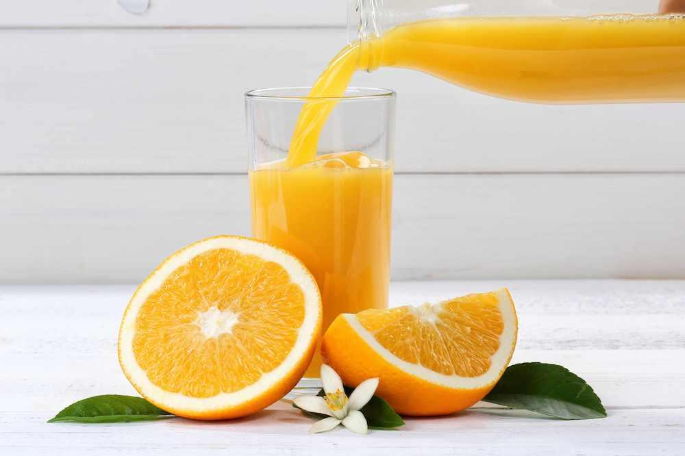 Zumo de naranja a diario