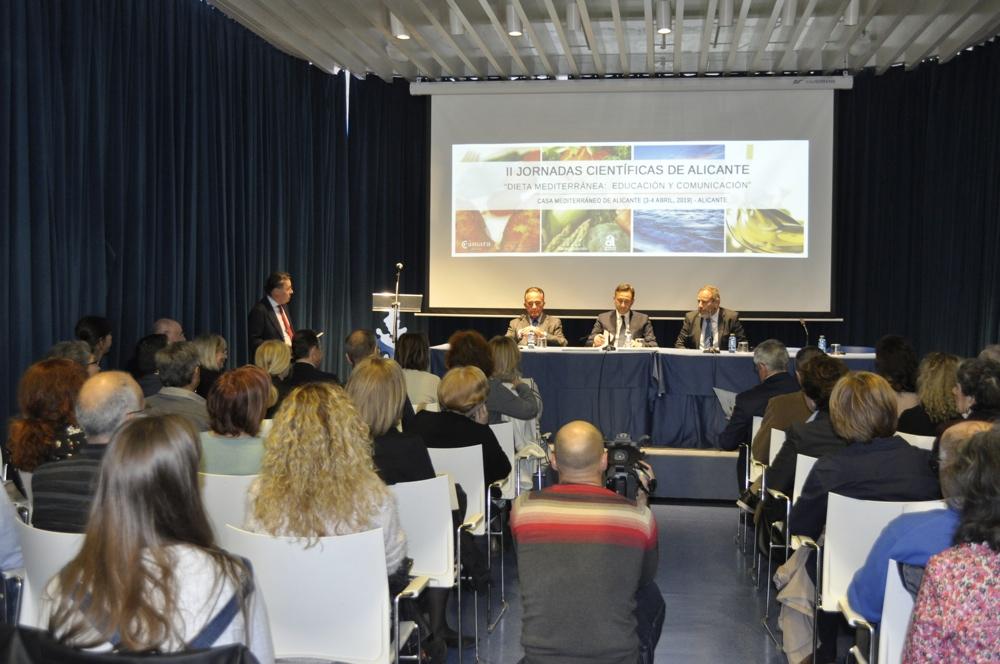 """Concluyen con éxito las II Jornadas """"Dieta Mediterránea: Educación y  comunicación"""""""