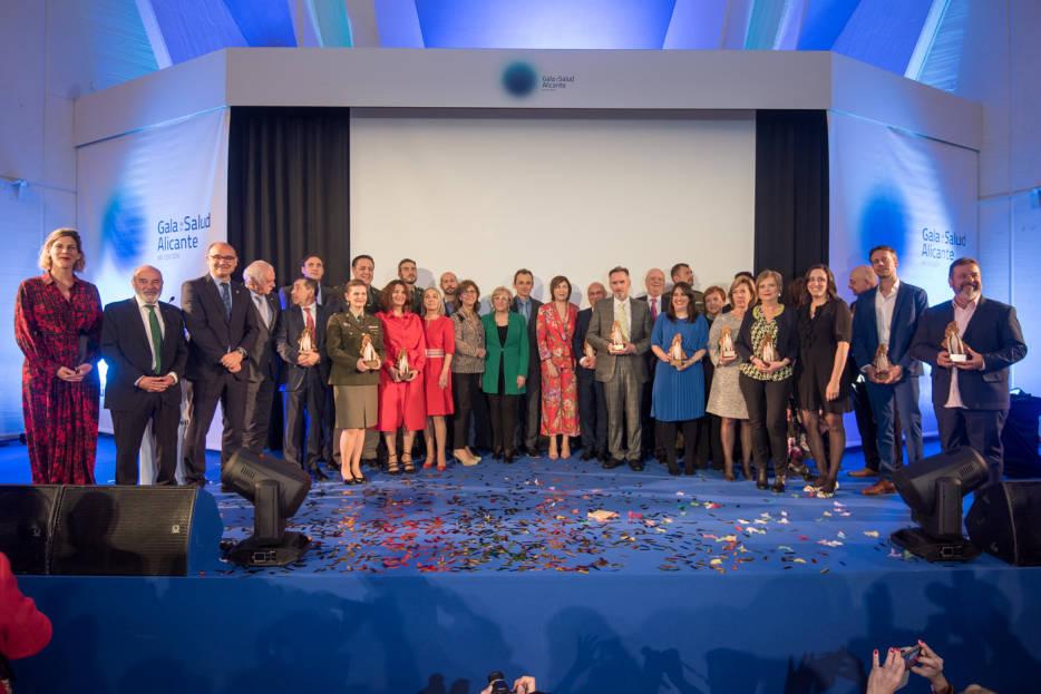 VIII Gala de la Salud de la Unión Profesional Sanitaria de Alicante (UPSANA)
