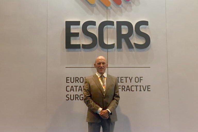 Alió entra en la directiva de la ESCRS tras obtener el mayor número de votos entre todos los candidatos