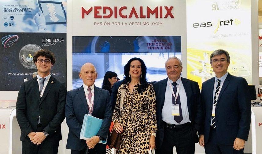 MedicalMix dona a las fundaciones Jorge Alió y Elena Barraquer material oftalmológico